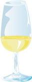 Het witte Proeven van de Wijn Stock Afbeeldingen