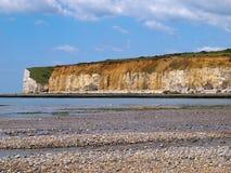Het witte Strand van de Klip royalty-vrije stock foto