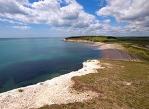 Het witte Strand van de Klip royalty-vrije stock fotografie