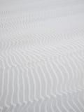 Het witte zand van de woestijn Stock Fotografie