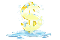 Het witwassen van Geld Stock Foto's