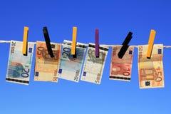 Het witwassen van geld Royalty-vrije Stock Fotografie
