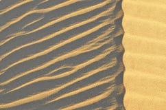 Het woestijnlandschap in Giza, Egypte Royalty-vrije Stock Afbeelding
