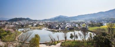 Het woningshuis in huizhou van China Stock Fotografie