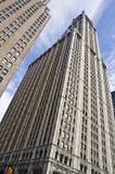 Het Woolworth-gebouw, de Stad van New York stock afbeelding