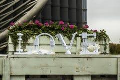 Het woord van de liefde Royalty-vrije Stock Foto's