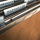 Het woord van de marketing royalty-vrije illustratie