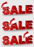 Het woord van de verkoop royalty-vrije stock afbeeldingen