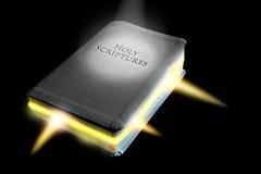 Het woord van god is in leven stock afbeeldingen