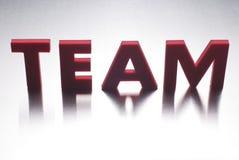 Het woord van het team Royalty-vrije Stock Afbeeldingen