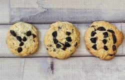 Het woord yum op koekje wordt beschreven dat Royalty-vrije Stock Afbeeldingen