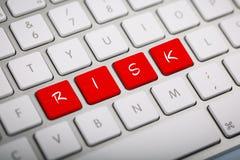 Het woordrisico Royalty-vrije Stock Afbeeldingen