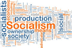Het woordwolk van het collectivisme Stock Fotografie