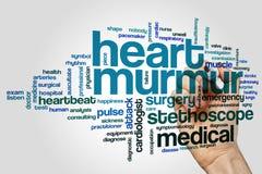 Het woordwolk van het hartgefluister vector illustratie