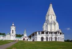 Kerk van de Beklimming in Kolomenskoye royalty-vrije stock fotografie