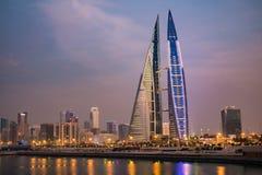 Het World Trade Center van Bahrein Stock Foto's
