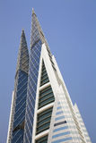 Het World Trade Center van Bahrein, Manama, Bahrein Royalty-vrije Stock Afbeelding
