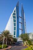 Het World Trade Center van Bahrein, Manama, Midden-Oosten Stock Foto