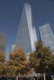 Het World Trade Center, WTC, maalde Nul, de Stad van New York Stock Afbeelding