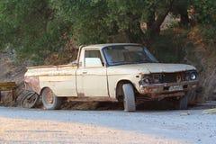 Het wrak van de auto royalty-vrije stock foto