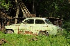 Het wrak van de auto royalty-vrije stock foto's