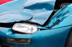 Het wrak van de auto. royalty-vrije stock foto's