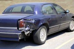 Het wrak van de auto stock afbeelding