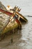 Het wrak van de boot royalty-vrije stock foto