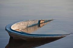 Het wrak van de boot royalty-vrije stock afbeelding
