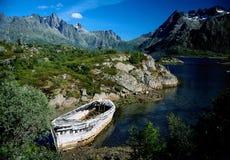 Het wrak van de boot royalty-vrije stock afbeeldingen