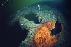 Het wrak van de lijnbootkeizerin van Ierland in St Lawrence River royalty-vrije stock afbeeldingen