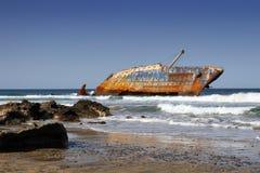 Het wrak van het schip royalty-vrije stock foto