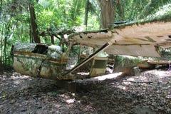Het Wrak van het vliegtuig Royalty-vrije Stock Foto