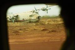 Het wrak van het vliegtuig Royalty-vrije Stock Afbeelding