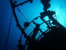 Het wrak van het verbrekingsschip Dame Elliot Island Royalty-vrije Stock Afbeelding