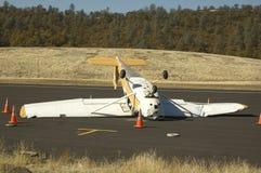 Het wrak van vliegtuigen royalty-vrije stock afbeeldingen