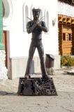Het x-mensen wolverine standbeeld Stock Afbeeldingen