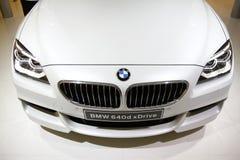 Het xDrive Vooraanzicht van BMW 640d Royalty-vrije Stock Fotografie