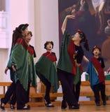 Het XIV Internationale Festival van Koorart singing world Kathedraal van Heiligen Peter en Paul stock afbeelding