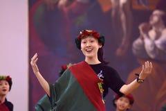 Het XIV Internationale Festival van Koorart singing world Kathedraal van Heiligen Peter en Paul stock afbeeldingen