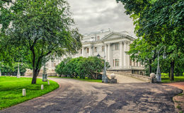 Het Yelagin-paleis in het Yelagin-park Royalty-vrije Stock Foto
