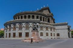 Het Yerevan Operatheater, Armenië stock foto