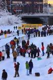 Het Yukon Uitgangspunt van de Zoektocht 2010 Royalty-vrije Stock Afbeeldingen