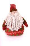 Het zachte stuk speelgoed van Kerstman Stock Foto's