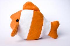 Het zachte stuk speelgoed van vissen Royalty-vrije Stock Foto