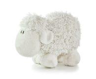 Het zachte Witte Lam van het Stuk speelgoed Royalty-vrije Stock Afbeeldingen