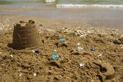 Het zand Stock Fotografie