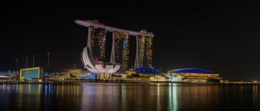 Het Zand in Marina Bay Casino en Toevlucht in Singapore royalty-vrije stock foto