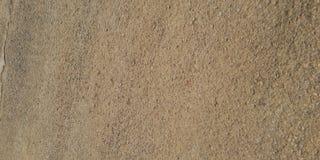 Het zand van het Bondostrand wegens regen royalty-vrije stock afbeeldingen