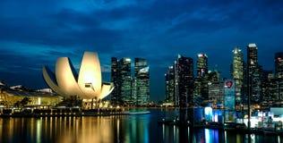 Het Zand van de Baai van de jachthaven, Singapore Stock Foto's